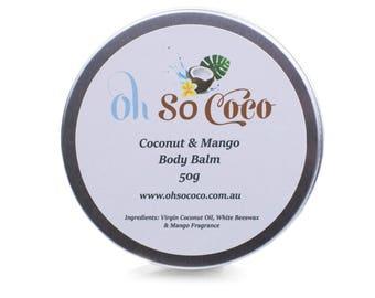 Coconut & Mango Body Balm