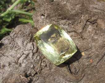 Lemon Quartz Faceted. S0116