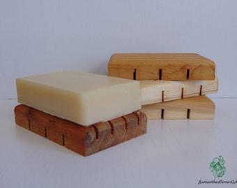 Cedar Soap Deck/ Soap Saver/ Wooden Soap Dish/ Soap / Handmade/ Eco Friendly/ Natural