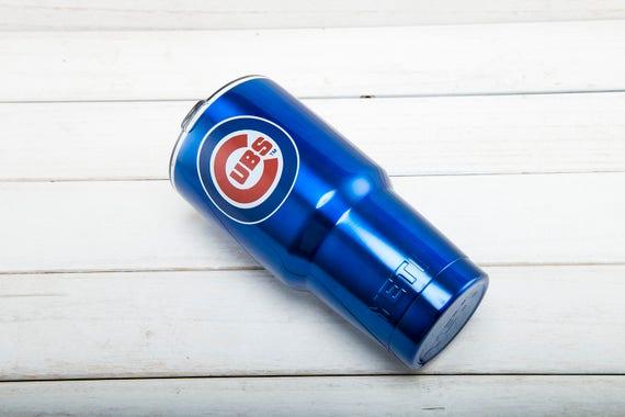 Chicago Cubs Yeti Cup Chicago Cubs Cup Chicago Cubs Birthday