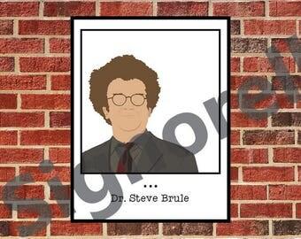 Steve Brule Framed Print