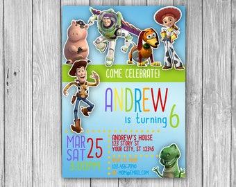 Toy Story Invitation (Digital)