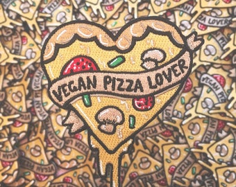 Vegan Pizza Lover Patch
