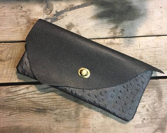 Leather Clutch Wallet, Small Leather Pouch, Ornate Collection, Small Leather Wallet, Leather Bag, Leather Clutch Purse, Leather Clutch Bag