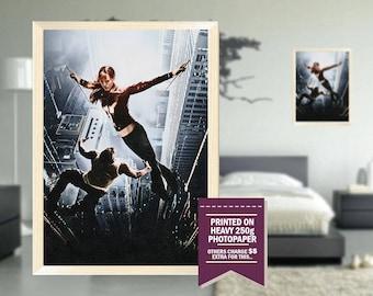 Elektra poster, custom fan art, elektra poster, GIFT, pencil drawing design, cool movie posters, elektra, elektra print, great gift ideas