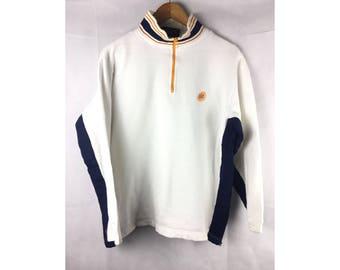 VANS USA Long Sleeve Sweater With Neck Zipper Medium Size Sweater Jackets
