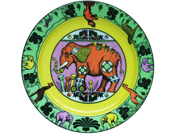 Dinner Plate * OMARI * from the Series PARADISE by Suisse Langenthal, Made in Switzerland