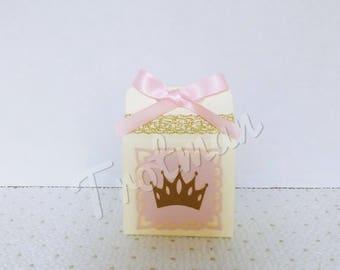 Princess Mini Milk Carton Favor Box