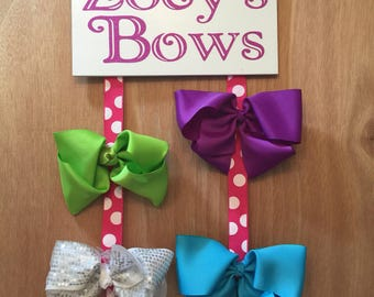 Personalized Bow Holder