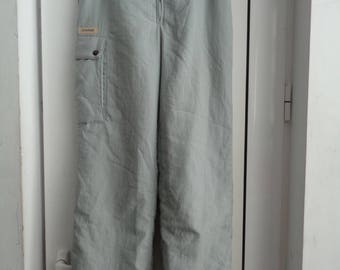 Vintage 80s Winter Hipster Snow Pants TEXSTAR, Vintage Windbreaker Pants, Size 176, Skiing Overalls Trousers