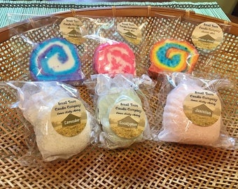 Bubble Bar and Shower Steamer Gift Basket