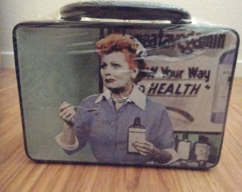 I Love Lucy Lunchbox/Collectible Tin Tote- NIP