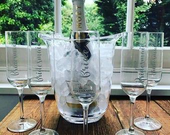Wedding glasses, bride glass, bridesmaid glass, champagne glass, wedding gift, wedding ideas, wedding planning