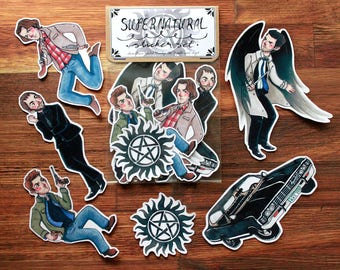Supernatural - Sticker Set