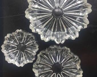 Nesting Glass Bowl Set Hazel Atlas