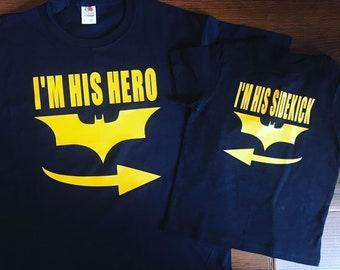 I'm his hero - i'm his sidekick