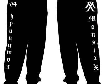 Monsta X bias joggers/sweatpants