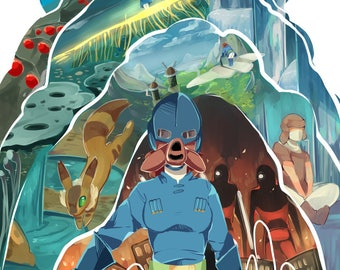 Nausicaa of the Valley of the Wind, Postcard