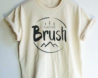 Native Brush Tee