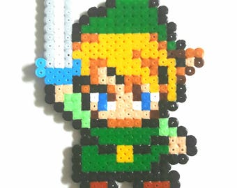 Link - The Legend Of Zelda Pixel art beads