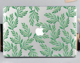 Leaves Macbook Case Leaves Macbook Air Case Leaves Macbook Pro Case MacBook Air 13 Case Air case Leaves15 macbook pro Leaves case mCA_037