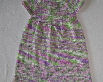 Knit baby dress 12-18 months