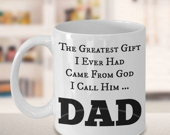 Dad gift from kids | Happy fathers day | Coffee mug