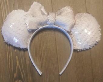 Reversible Sequin Ears