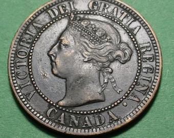 Canada Large Cent  1900 <>ETW6961