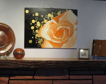 Rose Gold Painting