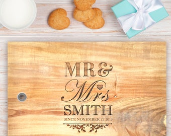 Personalised Wooden Chopping Board: Small, Medium or Large