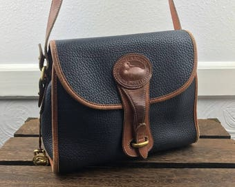 DOONEY & BOURKE AWL Pebbled Leather Crossbody Bag