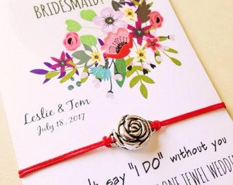 Set Bridesmaid • Will you be my Bridesmaid? • Bridesmaid proposal • Wedding favor • Asking gifts