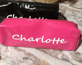 Personalised Pencil Case / Make up Bag