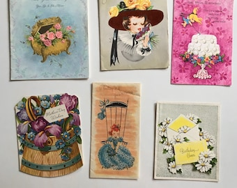 Assortment of Vintage Children's Cards