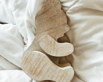 SALE: Vintage Wooden Bear - Nursery Decor