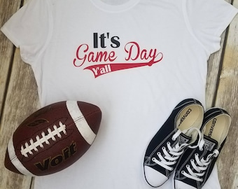 It's Game Day, Y'all graphic tee