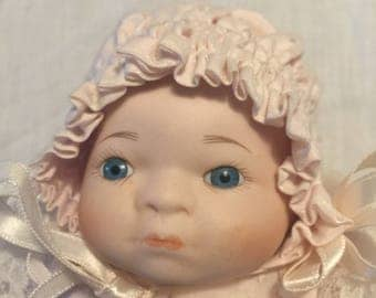 Porcelain Teary Baby Doll