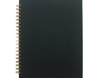 Classic O Notebook in Black