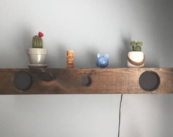 Floating Shelf Speaker