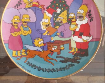 Simpsons Holliday collector plate