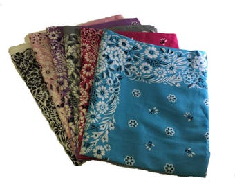Have one to sell? Sell now Floral Hankies/Bandanna/Scarf 21x21