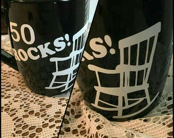 50 rocks coffee mug