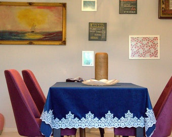 Plain Velvet Blue Fabric PERFECT For Apparel Home Decor Crafts F27