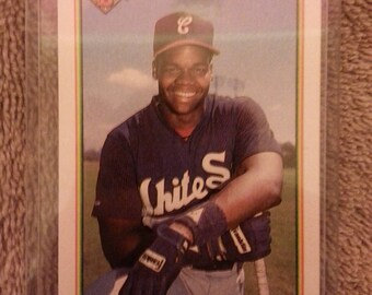 frank thomas 1989 boman rookie card