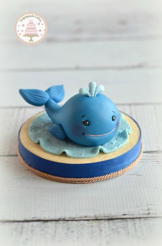 Fondant Ocean Cake Topper Etsy