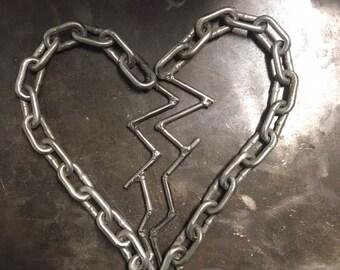 Welded split heart