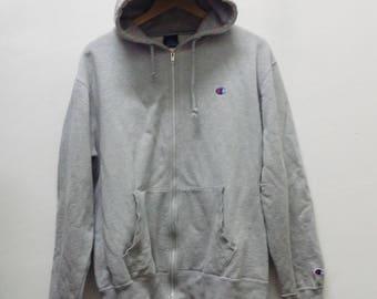 Champion hoodies Vintage hoodies hip hop style Size L