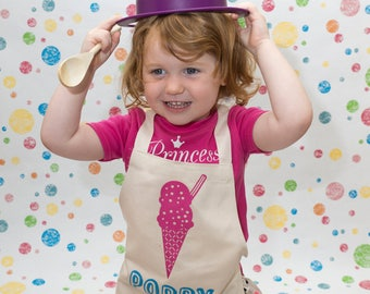 upgraded shipping for ice-cream apron to usa