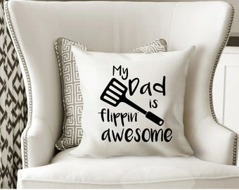 Fathers Day Gift Camping Decor Pillows Camping Tent Decor